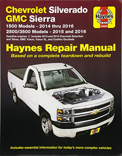 & GMC 1500 Pick-ups (14-16) & 2500/3500 Pick-ups (15-16) including 2015 & 2016 Suburban, Tahoe, GMC Yukon/Yukon XL & Cadillac ... to diesel engine models. (Haynes Automotive) ()