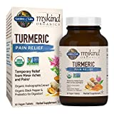 Garden of Life mykind Organics Turmeric Pain Relief 30 Tablets – 50mg Curcumin (95% Curcuminoids), Andrographis, Black Pepper & Probiotics – Organic, Non-GMO, Vegan & Gluten Free Herbal Supplements Review