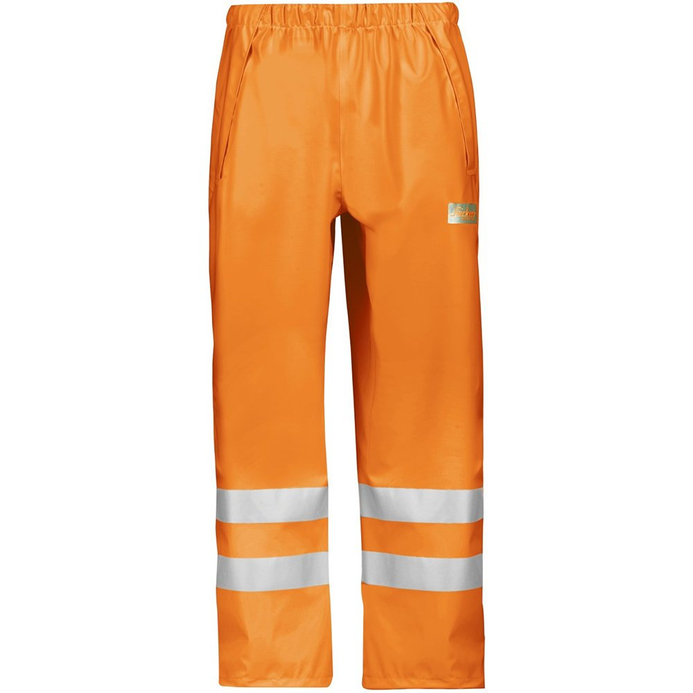 Snickers HV Regenhose, HV gelb, PU Größe: 9 (XXXL) Snickers Workwear 82436600009