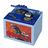 New Godzilla Movie Musical Monster Moving Electronic Coin Money Piggy Bank box 1 /2/3