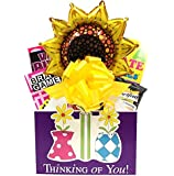 Thinking of You Gift Basket for Women: A Cheerful Alternative To Flower Bouquets by Gifts Fulfilled Gift Baskets