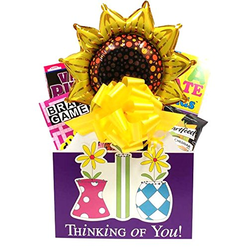 Thinking of You Gift Basket: A Cheerful Gift for Women for Get Well, Birthday or Thank You by GiftsFulfilled
