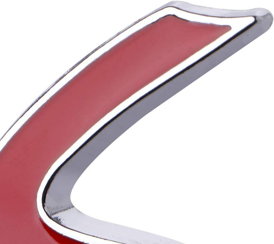 ATATMOUNT Autocollant dembl/ème dinsigne de calandre Avant en m/étal 3D S pour Mini Cooper R50 R52 R53 R56 R57