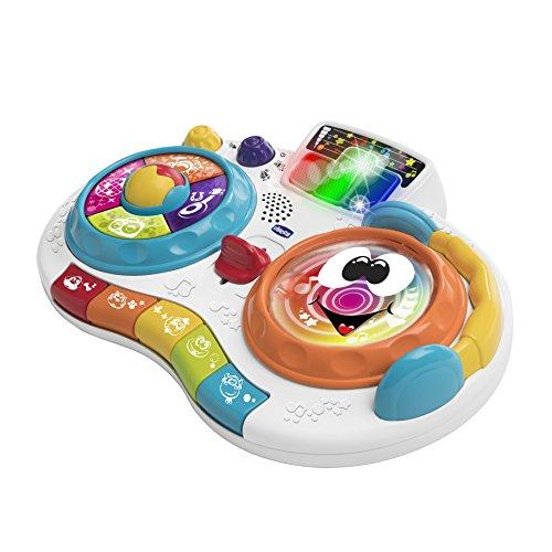 Chicco Dj Mixy- Piano interactivo con luces y melodías y 2 modos de juego