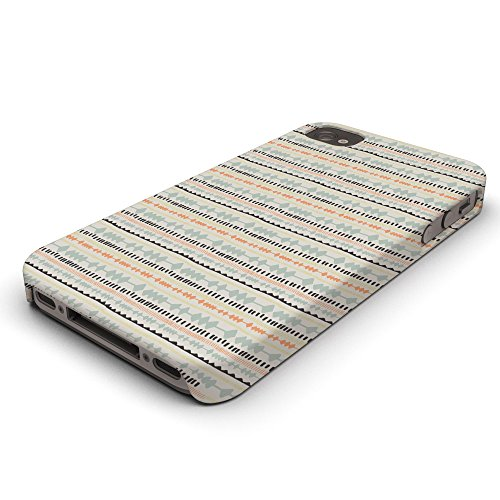 Koveru Back Cover Case for Apple iPhone 4/4S - Material Pattern