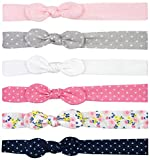 Printed and Solid Soft Knot Jersey Head-wraps for Infants and Toddlers