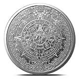 1 oz .999 Aztec Calendar Stone, Eagle Warrior