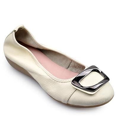 38270ae23b909 Amazon.com | York Zhu Ballet Flats for Women, Round Toe Slip on Soft ...