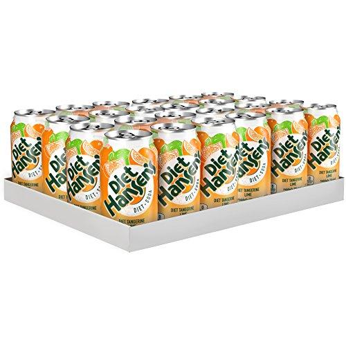 Hansen's Diet Soda, Tangerine Lime, 12 Ounce (Pack of 24)