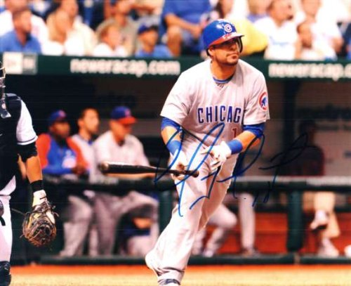 Autographed Geovany Soto 8X10 Chicago Cubs Photo