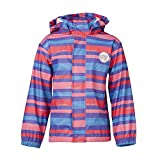 Girls Waterproof Stripey Jacket by Lego Wear of Denmark (116cm: 5-6 years)