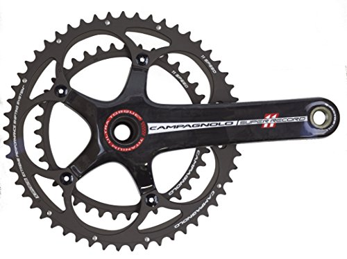 Campagnolo Super Record Carbon Ti Ultra-Torque 11 Speed Double Standard 39/53 Crankset 170mm