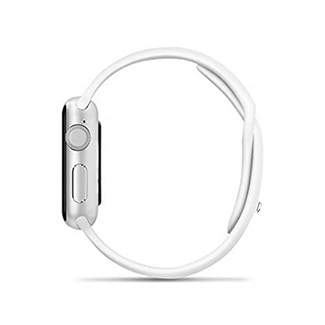 Amazon.com: ETTG SW25 Bluetooth Smart Watch Support SIM Card Smartphone Fitness Tracker for IOS Android - White: Cell Phones & Accessories