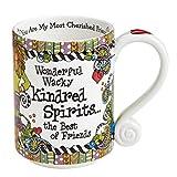 Suzy Toronto Wonderful Wacky Kindred Spirits the Best of Friends Mug