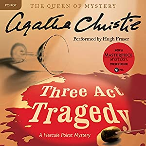 Three Act Tragedy Audiobook