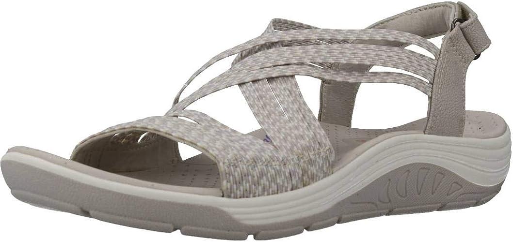 apoyo sufrir Diversidad  Skechers Reggae Cup-oh, Snap, Sandalias de Punta Descubierta para Mujer:  Amazon.es: Zapatos y complementos