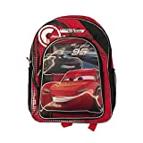 Lightning McQueen and Jackson Storm Top Speed 95 Backpack with Mesh Side Pockets