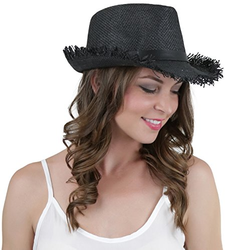 maxi dress and fedora hat - 9