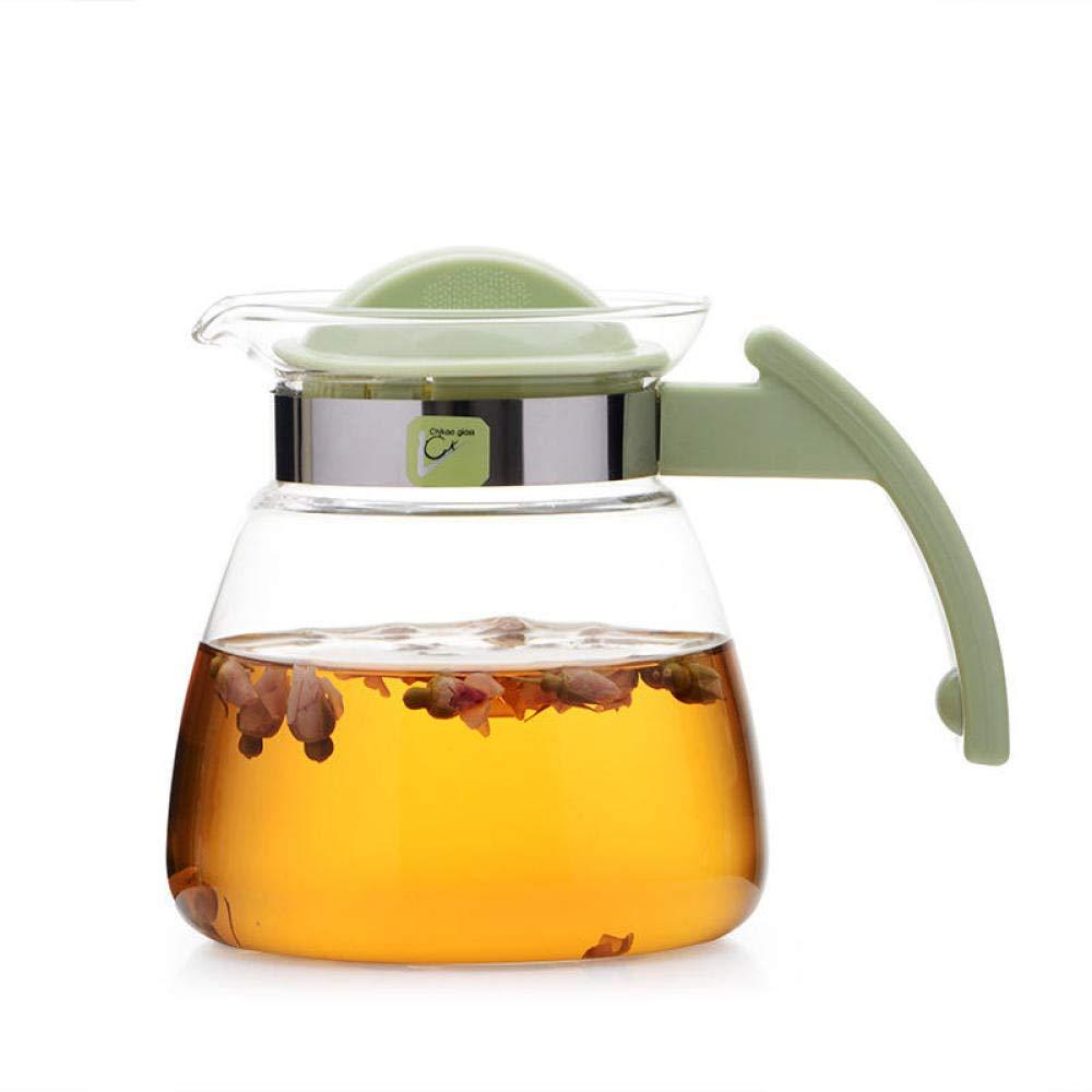 POTOLL Teiera con Filtro Teiera Fiore riscaldata, tè bollito, bollitore, bollitore, brocca @ 1500 ml Prezzi