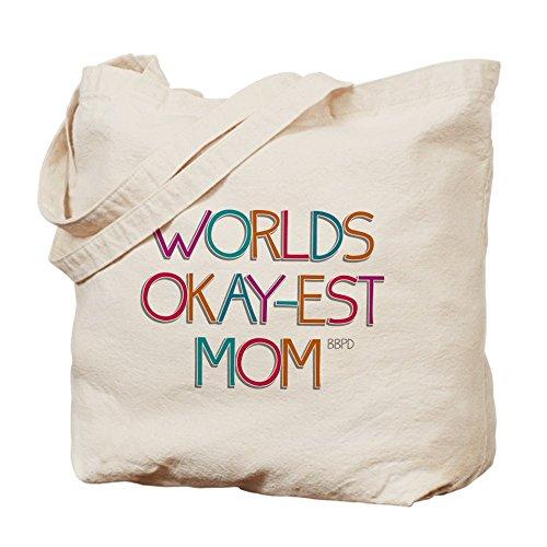 CafePress mundos–okay-est gamuza de mamá–lona bolso, bolsa de la compra