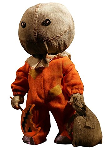 (Mezco Toyz Mega Scale Trick 'r Treat Sam Action Figure,)
