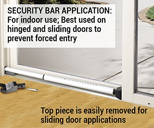 Master Lock Security Bar, Adjustable Door Security Bar, 265DCCSEN, 1-pack