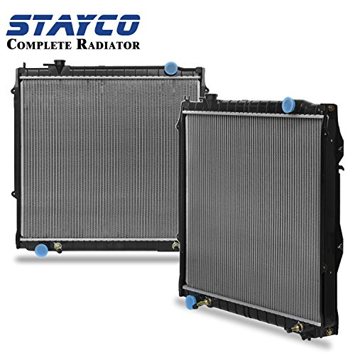 Radiator for Toyota 1995-2004 Tacoma 2.7 L4/3.4 V6 (22-5/8 In. between Tanks) w/TOC