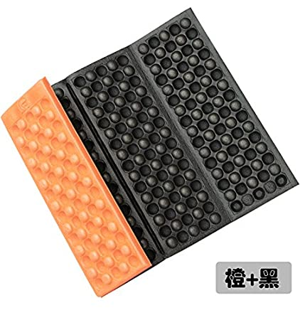 Ruimin pieghevole idrorepellente pieghevole campeggio materasso tappetini Seat Foam Pad picnic Pad, blue+black