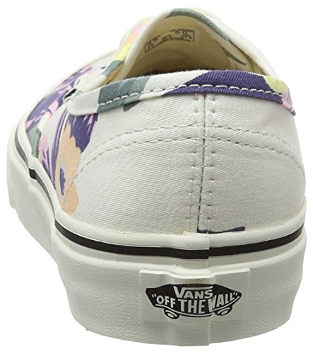 Sneakers Lace Floral Vans Fashion Fade Womens Top vintage marshmallow Floral Multicolour Up Low 58XX4rq