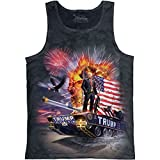 The Mountain Epic Trump Tank Top - Charcoal