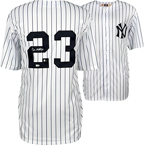- Don Mattingly New York Yankees Autographed White Majestic Cooperstown Collection Replica Jersey - Fanatics Authentic Certified