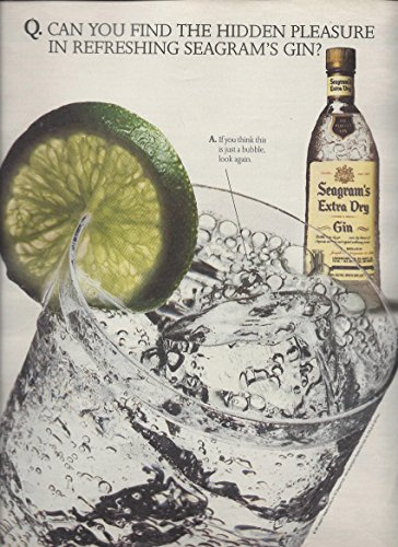 print-ad-for-seagrams-gin-1992-find-the-hidden-pleasure