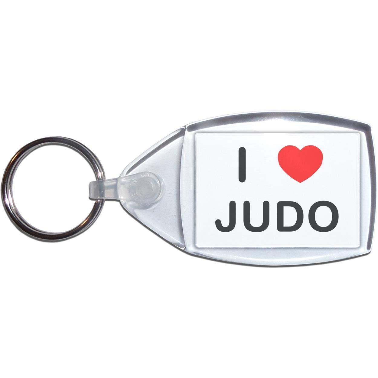 BadgeBeast.co.uk I Love Judo - Llavero plástico: Amazon.es ...