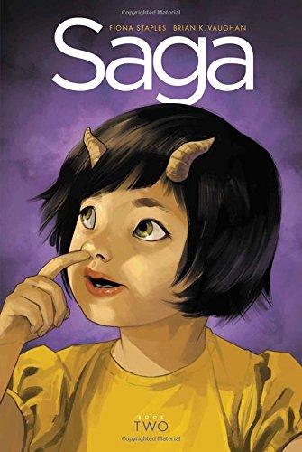 Saga Book Two cover