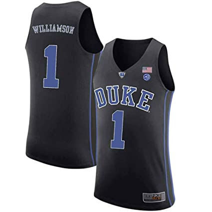 8a22a69ec5a7 MitChell   Ness Duke Blue Devils Zion Williamson 1  Stitched Men s College  Basketball Jersey (
