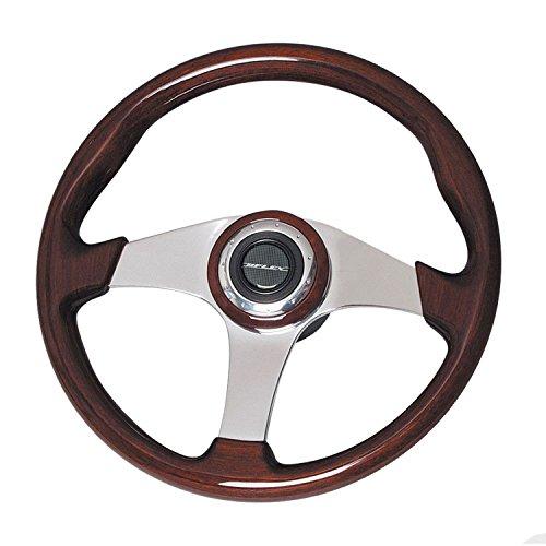 Uflex USA Inc. 62686G ALICUDI Mahogany Steering Wheel, 13.8