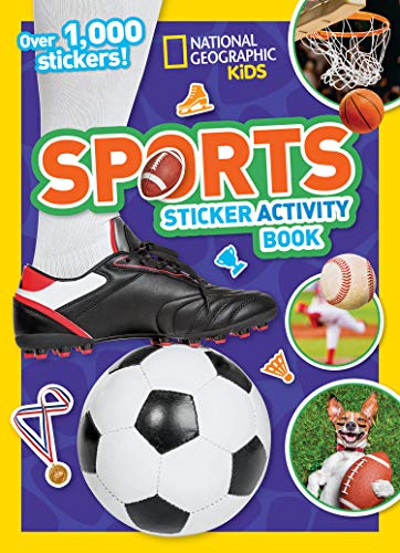 Sports Sticker Activity Book]()