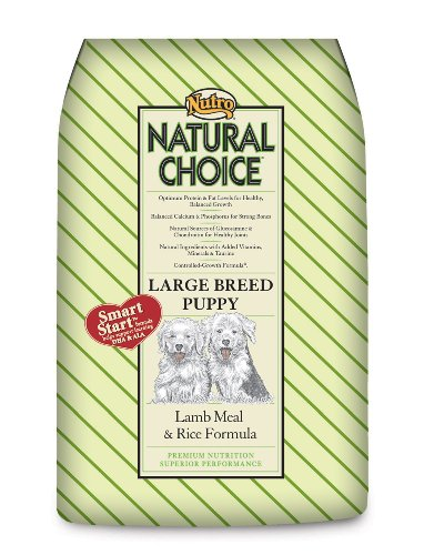 Natural Choice Dog Large Breed Lamb Meal and Rice Formula Puppy Food, 30-Pound