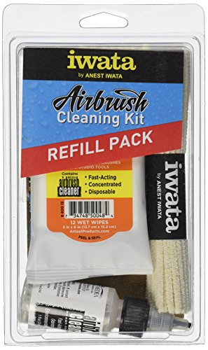 Iwata-Medea Airbrush Cleaning Kit Refill Pack