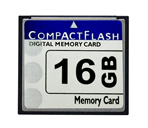 HuaDaWei Digital Camera Memory Card 16GB CompactFlash Memory Card Free Packaging 16GB CompactFlash Memory Card 400x (TS16GCF400)