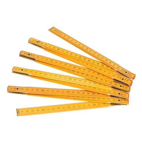 Hrph Regla portá til plegable de madera Carpintero 100cm / 39 pulgadas o 200 cm / 79 pulgadas Elecció n AEQW-WER-AW142260