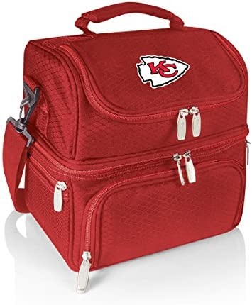 PICNIC TIME NFL Kansas City Chiefs Pranzo Insulated Lunch Tote