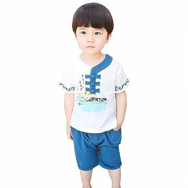 Kehuashina Año Nuevo Chino niños bebé niño Tang Traje Cheongsam ...