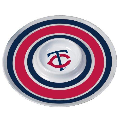 MLB Minnesota Twins 14-Inch Melamine Chip and Dip