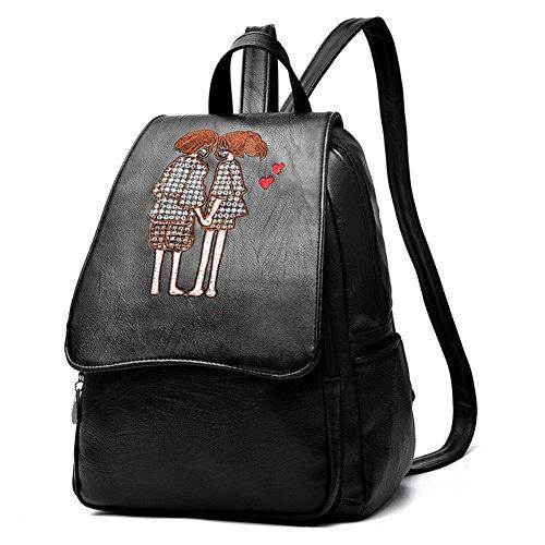G-AVERIL - Bolso mochila  para mujer Black3 Black1
