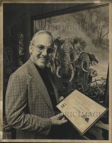 1978 Press Photo Ernest Rooney, assistant director of the San Antonio Zoo, Texas
