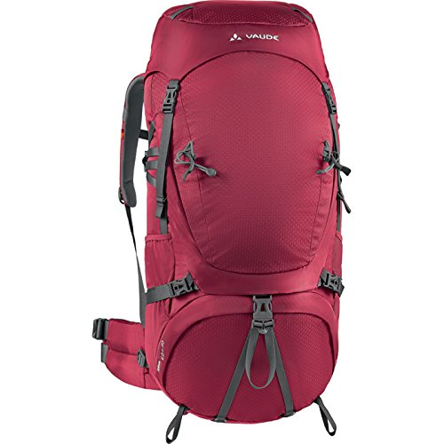 VAUDE Uni Astrum 60+10 M/L Rucksaecke, Dark Indian Red, 79 x 39 x 28 cm