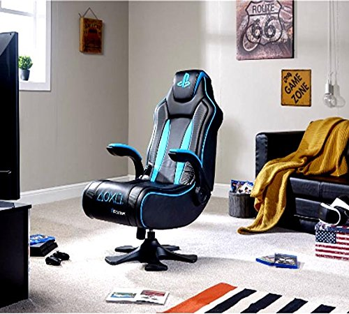 X-Rocker Genesis Official Licensed PlayStation Gaming Chair: Amazon.es: Videojuegos
