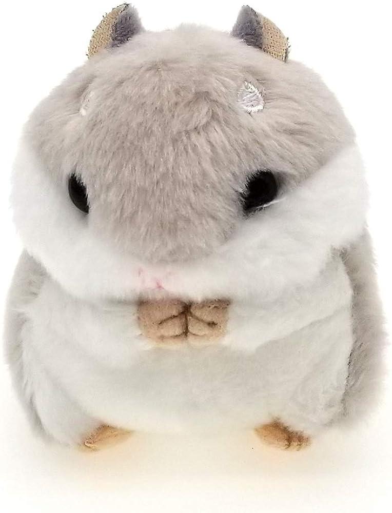 "NICOSHINE 3.93"" Hamster plush keychain, cute pendant, backpack pendant, car keychain"