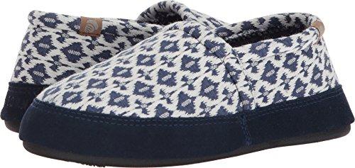 Zapatillas Para Mujer Acorn Moc Summer Slipper Navy Tribal